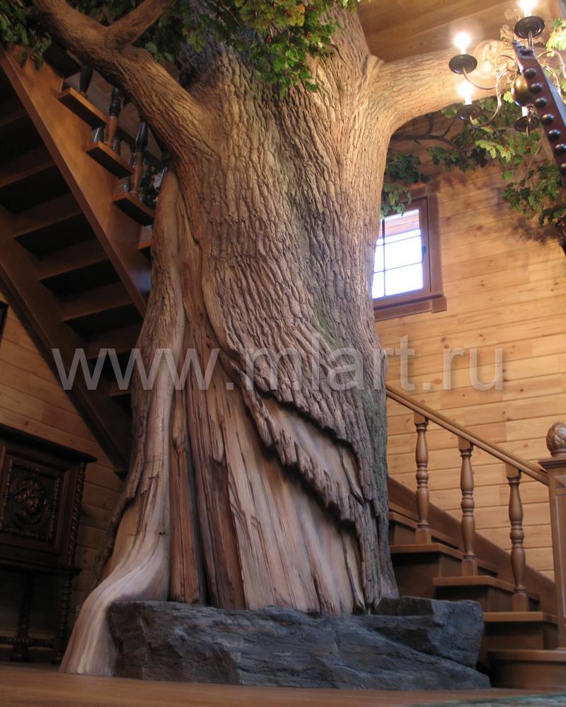 Искусственное дерево своими руками больших размеров 54