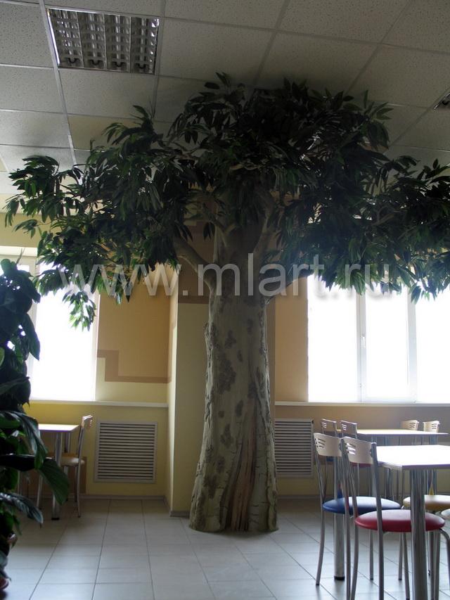 Искусственное дерево своими руками больших размеров